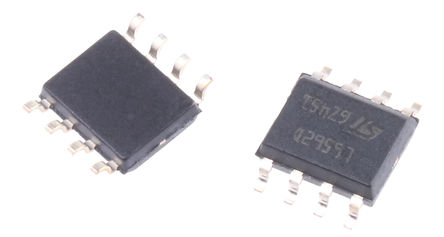 STMicroelectronics - L6562D - STMicroelectronics L6562D 功率因数控制器, 8引脚 SOIC封装