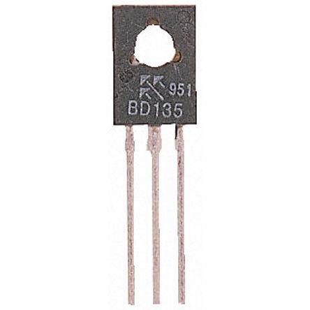 STMicroelectronics - 2SB772 - STMicroelectronics 2SB772 , PNP 双极晶体管, 3 A, Vce=30 V, HFE:30, 100 MHz, 3引脚 SOT-32封装