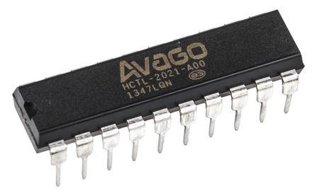 Broadcom - HCTL-2021-A00 - Broadcom HCTL-2021-A00 解码器, 20引脚 PDIP封装
