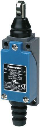 Panasonic - AZ8122CEJ - Panasonic IP64 限位开关 AZ8122CEJ, 柱塞, DPST, 常开/常闭, 250V