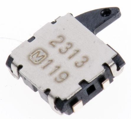 Panasonic - ESE58L61B - Panasonic ESE58L61B DIP 开关, 单刀单掷-常闭, 10 mA @ 5 V 直流