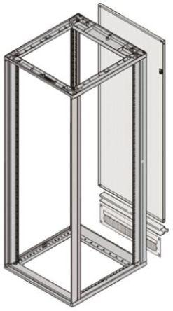 Schroff - 26230439 - Schroff 钢 后面板 26230439, 使用于NOVASTAR 19 英寸机柜