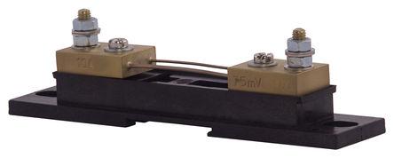 Sifam Tinsley - YN01-04751BS000000 - Sifam Tinsley Kappa 系列, 10 A 黄铜端 分流器 YN01-04751BS000000, 75mV输出