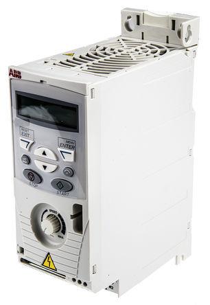 ABB - ACS150-03E-02A4-4 - ABB ACS150 系列 IP20 0.75 kW 变频器驱动 ACS150-03E-02A4-4, 500Hz, 2.4 A, 380 → 480 V