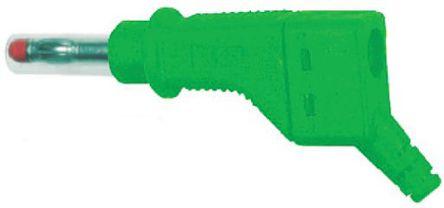 Multi Contact - 66.9328-25 - Multi Contact 66.9328-25 绿色 香蕉插头, 600V 32A, 镀镍触点