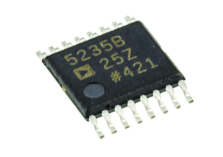 Analog Devices - AD5235BRUZ25 - Analog Devices AD5235BRUZ25 2通道 25kΩ 1024位置 �性,��� �底蛛�位� , 支持多�N控制接口, 16引�_ TSSOP封�b
