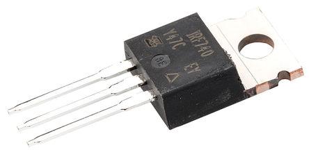 Vishay - IRF740PBF - Vishay Si N沟道 MOSFET IRF740PBF, 10 A, Vds=400 V, 3引脚 TO-220AB封装