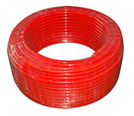 SMC - TU0604YR-20 - SMC TU 系列 20m 橙色 聚氨酯 TU0604YR-20 空气软管, 0.8 MPa @ 20 °C工作压力, 0 → +40 (Water) °C, -20 → +60 °C, 4mm外径