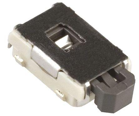 Panasonic - EVQPSD02K - Panasonic 黑色 推入板 轻触式开关 EVQPSD02K, 单刀单掷 - 常开, 50 mA @ 12 V 直流 1.8mm