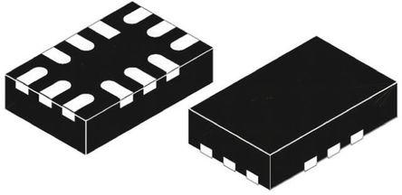 STMicroelectronics - STMPE321 - STMicroelectronics STMPE321 电容式 触摸屏控制器, 串行 - I2C接口, 12引脚 QFN封装