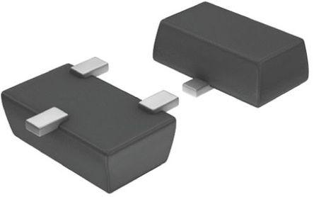DiodesZetex - ZXTP08400BFFTA - DiodesZetex ZXTP08400BFFTA , PNP 晶体管, 200 mA, Vce=400 V, HFE:100, 70 MHz, 3引脚 SOT-23F封装