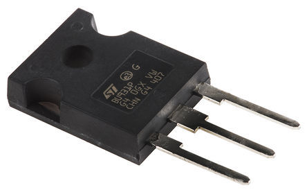 STMicroelectronics - SCT30N120 - STMicroelectronics Si N沟道 MOSFET SCT30N120, 45 A, Vds=1200 V, 3引脚 Hip247封装