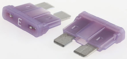 Littelfuse - 0287003.PXCN - Littlefuse 3A 紫色 车用插片式熔断器 0287003.PXCN, 32V dc, 19.1mm x 5.1mm x 12.3mm