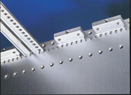 Rittal - 3684.234 - Rittal 10 安装座 3684.234, 使用于侧面板盖