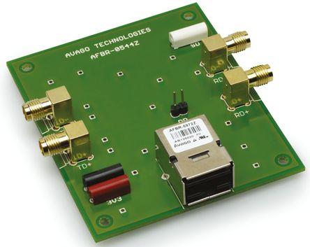 Broadcom - AFBR-0544Z - Broadcom AFBR-0544Z 125 Mbit/s AFBR-5972Z 光纤收发器接口 评估套件