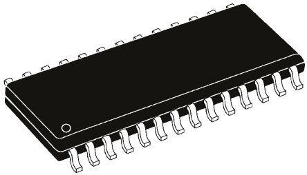 Cypress Semiconductor - CY62256NLL-55SNXI - Cypress Semiconductor CY62256NLL-55SNXI, 256kbit SRAM �却�, 32K x 8, 1MHz, 4.5 至 5.5 V, 28� SNC封�b