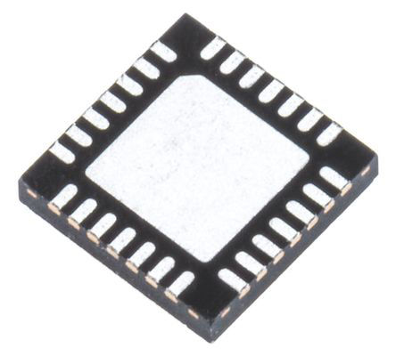 STMicroelectronics - STM32F031G6U6 - STMicroelectronics STM32 系列 32 bit ARM Cortex M0 MCU STM32F031G6U6, 48MHz, 32 kB ROM 闪存, 4 kB RAM, UFQFPN-28