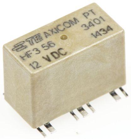 TE Connectivity - HF3-56 - TE Connectivity 单刀双掷 PCB 射频继电器 HF3-56, 3GHz, 12V dc