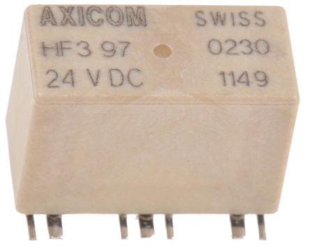 TE Connectivity - 1-1462051-5 - TE Connectivity 单刀双掷 PCB 高频继电器 HF3 97 , 1-1462051-5, 24V dc