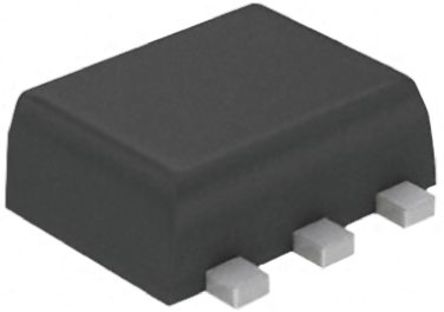 ON Semiconductor - NUF2230XV6T1G - ON Semiconductor EMI 滤波器, 1 μA, 5 V, 1.7 x 1.3 x 0.6 mm, 使用于 LCD 和相机数据线