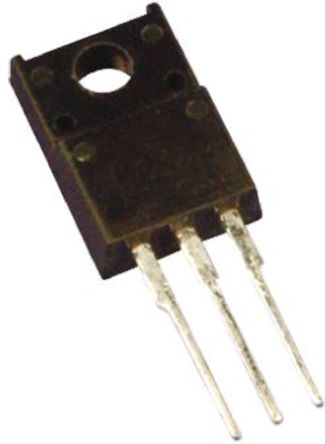 Toshiba - 2SK2508(F) - Toshiba Si N沟道 MOSFET 晶体管 2SK2508(F), 13 A, Vds=250 V, 3引脚 TO-220NIS封装