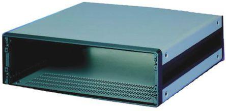 Schroff - 14575171 - Schroff CompacPRO 系列 灰色/银色 铝/挤制铝 3U 通风 台式机箱 14575171, 147.1 x 471 x 511mm