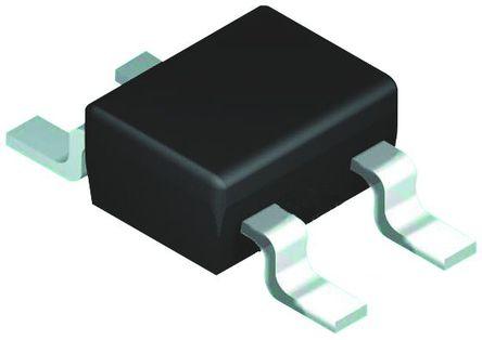 ROHM - UMZ12KTL - ROHM UMZ12KTL 2路 隔离式 齐纳二极管, 12V 200 mW, 4引脚 SOT-343封装