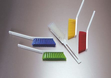 Vikan - 45865 - Vikan 45865 白色 擦洗刷, PET刷毛, 适用于输送机、食物准备表面
