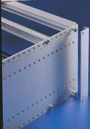 Rittal - 3688.112 - Rittal 铝 背部修边部分 3688.112, 20 mm x 6 mm x 3 U, 使用于Ripac ECO 子架