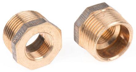 Conex-Banninger - 3241 008004000 - Conex-Banninger 1 in BSPT 外螺纹 x 1/2 in BSPP 内螺纹 直 渐缩异径管衬套 螺纹接头 3241 008004000