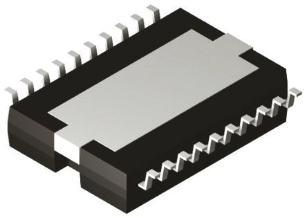 STMicroelectronics - TDA7391PDUTR - STMicroelectronics TDA7391PDUTR AB 类 音频放大器 IC, 65dB, +150 °C, 26 W @ 4 Ω最大功率, 20引脚 PowerSO封装