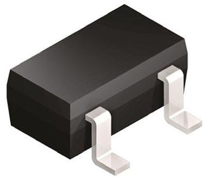 Broadcom - HSMS-2860-BLKG - Broadcom HSMS-2860-BLKG 射频检测器 肖特基 二极管, Io=10mA, Vrev=4V, 3引脚 SOT-23封装