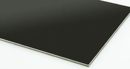 RS Pro - 79614F - RS Pro 铝板 79614F, 600mm长 x 600mm宽 x 3mm厚, 适合于包层、仪表板、折叠部件、带标志托盘