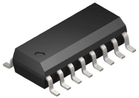 ON Semiconductor - ULQ2003ADR2G - ON Semiconductor ULQ2003ADR2G NPN 达林顿晶体管对, 500 mA, Vce=50 V, HFE=1000, 16引脚 SOIC封装