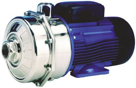 Xylem Lowara - 107330010XAA - Xylem 8 bar IP55 直接联接器 离心泵 107330010XAA, 70L/min最大流量, 230 V电源, 0.97kW功率