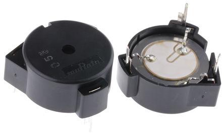 Murata - PKM24SPH3805 - Murata 3 → 20 V dc 90dB 连续音调 内部驱动 压电蜂鸣器 PKM24SPH3805, 3400 → 4200 Hz