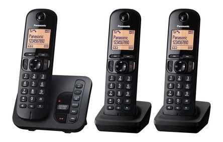 Panasonic - KX-TGC223EB - Panasonic KX-TGC223E LCD 显示 电话 KX-TGC223EB