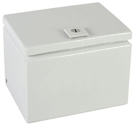 Rittal - JB080606HC - Rittal JB 系列 浅灰色 碳钢 IP66 接线盒 JB080606HC, 150 x 150 x 200mm