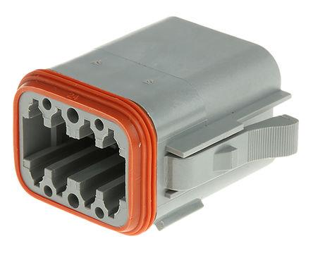 Amphenol - AT06-08SA - Amphenol 8路 电缆安装 公 电源连接器 AT06-08SA