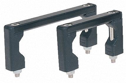 RS Pro - UG.05.055.04 - RS Pro 铝 把手 UG.05.055.04, 75 x 12 x 40mm, 使用于金属仪器箱