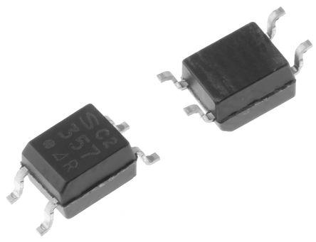 Sharp - PC357N14J00F - Sharp 光耦 PC357N14J00F, 晶体管输出, 4引脚