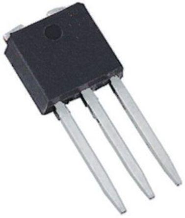 STMicroelectronics - STU4N62K3 - STMicroelectronics MDmesh K3, SuperMESH3 系列 N沟道 MOSFET 晶体管 STU4N62K3, 3.8 A, Vds=620 V, 4引脚 TO-251封装