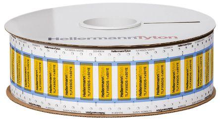 HellermannTyton - 553-60011 - HellermannTyton TLFX DS 系列 �崾湛s��|�擞�套管 553-60011, 使用于TrakMark DS,TT 430 �撕�打印�C,TT4000+
