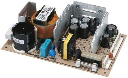Artesyn Embedded Technologies - NFS40-7605J - Artesyn Embedded Technologies 50W �屋�出 嵌入式�_�P模式�源 SMPS NFS40-7605J, 120 → 370 V dc, 85 → 264 V ac�入, 5.1V�出