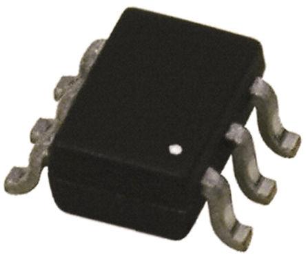 Broadcom - HSMS-286K-TR1G - Broadcom HSMS-286K-TR1G 射频检测器 肖特基 二极管, Io=10mA, Vrev=4V, 6引脚 SOT-363封装