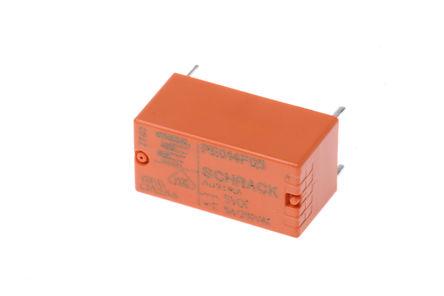 TE Connectivity - PE014F05 - TE Connectivity PE014F05 单刀双掷 PCB 安装 自锁继电器, 5V dc
