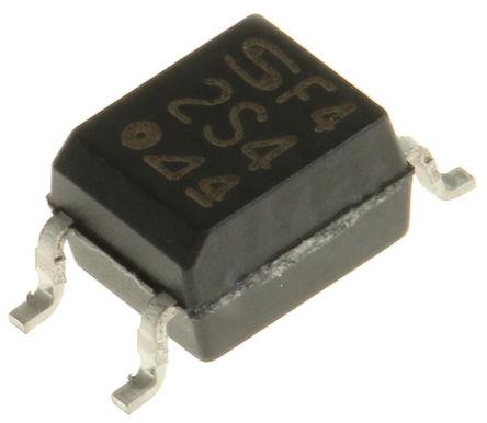 Sharp - S2S4BY0F - Sharp 光耦 S2S4BY0F, 三端双向可控硅开关元件输出, 4引脚 Mini-Flat 封装