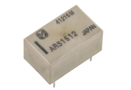 Panasonic - ARS1512 - Panasonic 单刀双掷 PCB 高频继电器 ARS1512, 3GHz, 12V dc