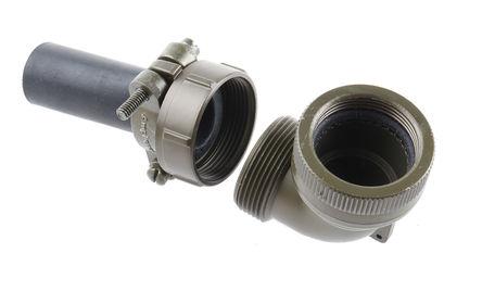 Amphenol - 97B-108922-20 - Amphenol 97B 系列 橄榄色 电缆夹 97B-108922-20, 19.05mm 捆束直径