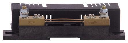 Sifam Tinsley - YN01-07751BS000000 - Sifam Tinsley Kappa 系列, 25 A 黄铜端 分流器 YN01-07751BS000000, 75mV输出